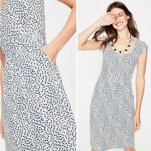 NWOT Boden Margot Polka Dot Jersey Dress Sz US 14